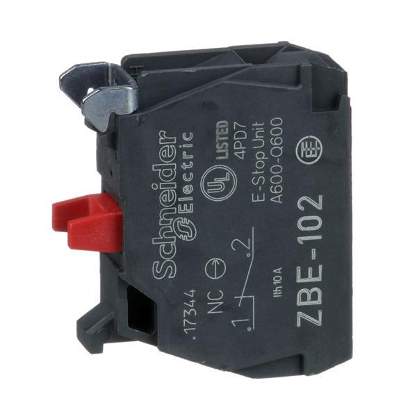 TELEMECANIQUE - Bloc contact pour bouton - ZBE Ø22 - 1O
