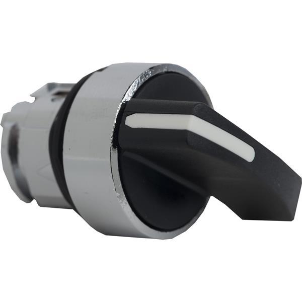 TELEMECANIQUE - Kop voor keuzeschakelaar - 2 standen - Ø22 - zwart - zonder markering