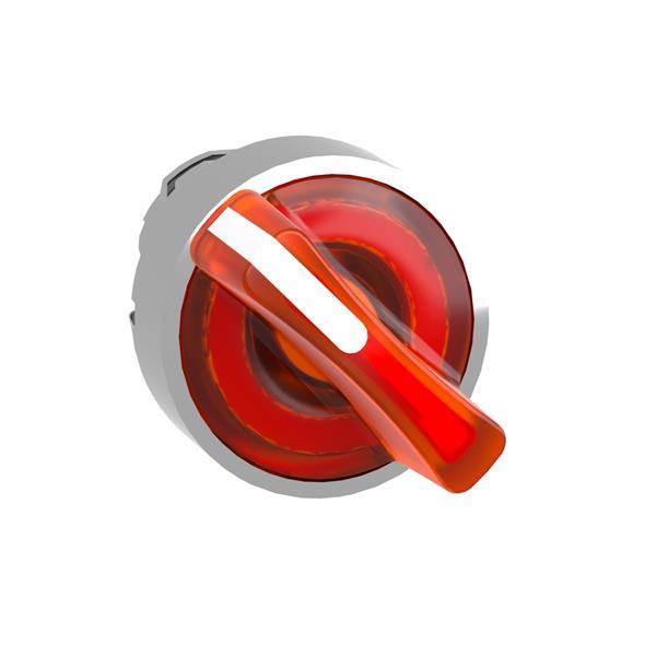 TELEMECANIQUE - Tête pour bouton tournant lumineux - 2 positions - Ø22 - jaune
