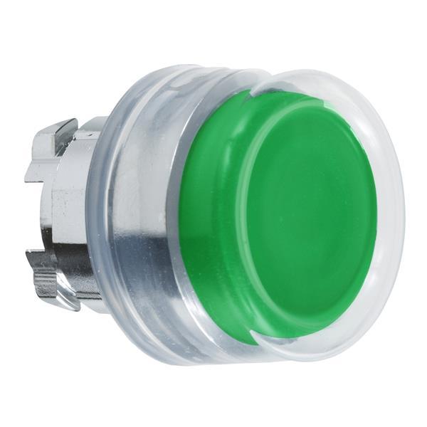 TELEMECANIQUE - Tête pour bouton-poussoir - Ø22 - capuchonné - vert