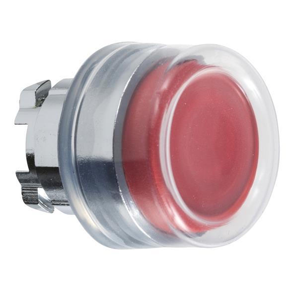 TELEMECANIQUE - Kop voor drukknop - Ø22 - met kapje - rood - zonder markering