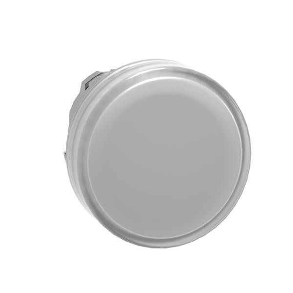 TELEMECANIQUE - Tête pour voyant - Ø22 - rond - cabochon lisse blanc pour LED