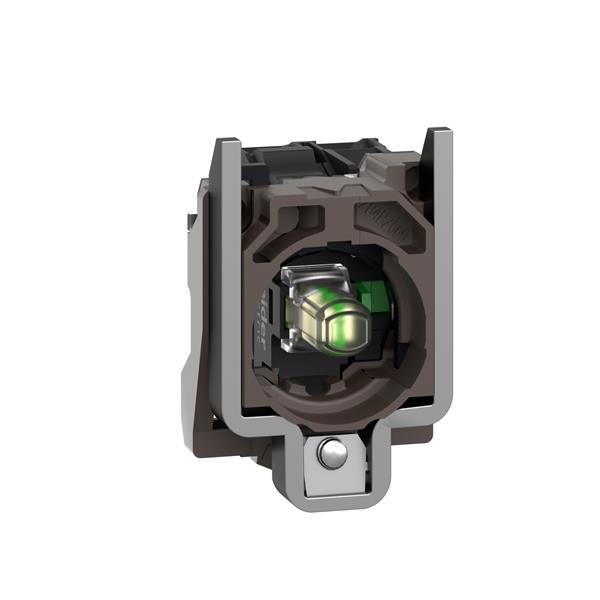 TELEMECANIQUE - Corps pour bouton lumineux - Ø22 - blanc DEL intégrée 1F