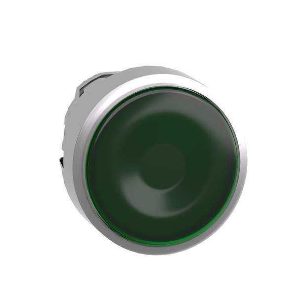 TELEMECANIQUE - Tête pour bouton-poussoir lumineux - Ø22 - vert