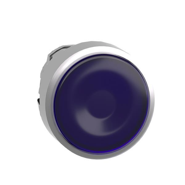 TELEMECANIQUE - Tête pour bouton-poussoir lumineux - Ø22 - bleu