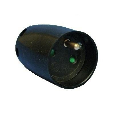 VYNCKIER - Begonia:Koppelstekker 2p+A 16A 250V~zwart