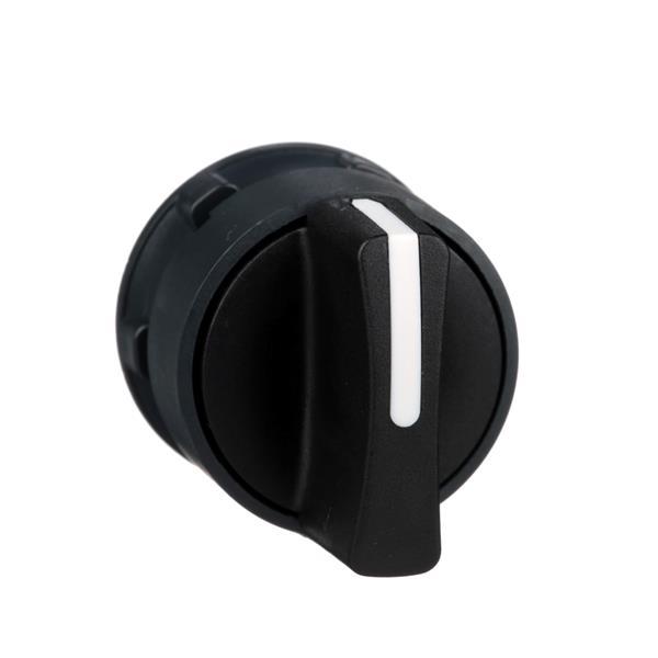 TELEMECANIQUE - tête pour bouton tournant - 2 positions - Ø 22 - noir