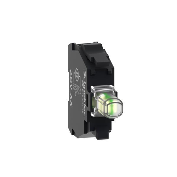 TELEMECANIQUE - lichtelement - Ø22 - wit ingebouwde LED - 24 V
