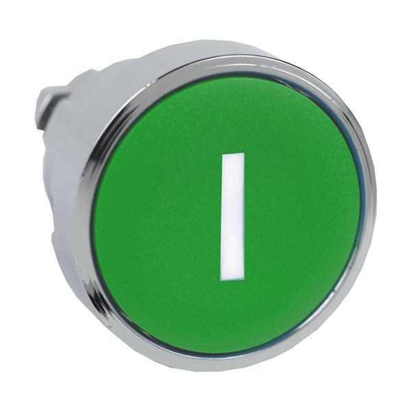 TELEMECANIQUE - Tête pour bouton-poussoir - Ø22 - vert - I