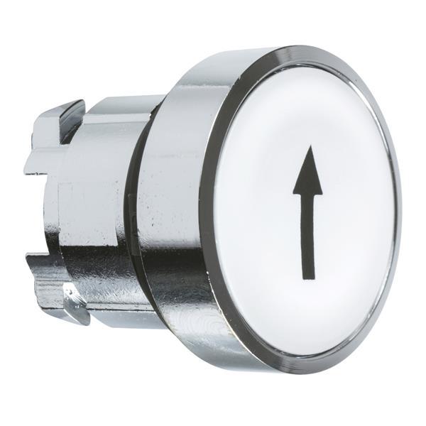 TELEMECANIQUE - Kop voor drukknop - Ø22 - wit - pijl naar boven