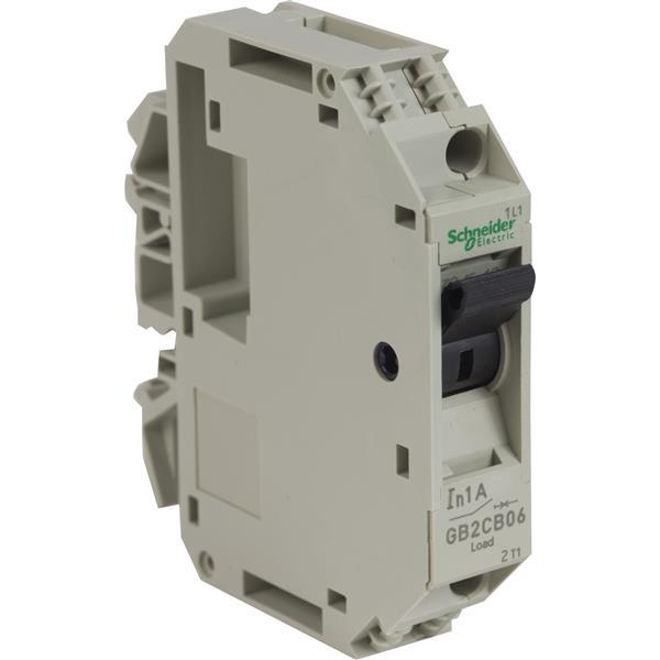 TELEMECANIQUE - Vermogenschakelaar voor stuurkring - GB2-CB - 1A - 1P - 1d