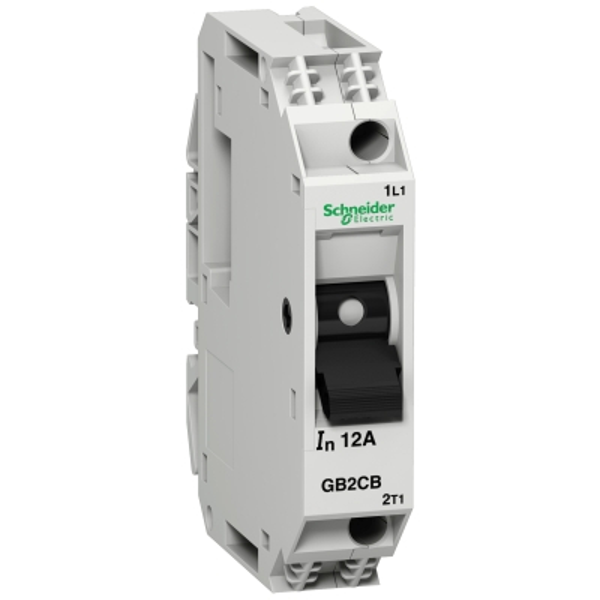 TELEMECANIQUE - Vermogenschakelaar voor stuurkring - GB2-CB - 3A - 1P - 1d