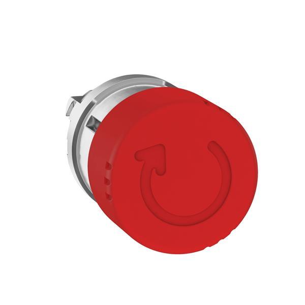 TELEMECANIQUE - Kop voor noodstop Ø30 draaien om te ontgrendelen Ø22 rood zonder markering