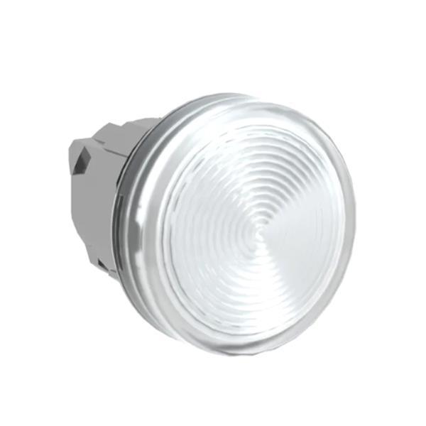 TELEMECANIQUE - Tête pour voyant - Ø22 - rond - cabochon lisse incolore pour ampoule BA9S