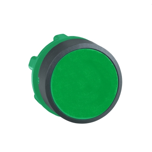 TELEMECANIQUE - kop voor drukknop - Ø22 - groen - zonder markering