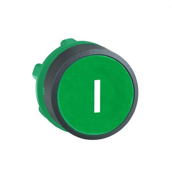 TELEMECANIQUE - tête pour bouton-poussoir  - Ø 22  - vert - I