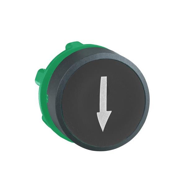 TELEMECANIQUE - tête pour bouton-poussoir  - Ø 22  - noir - flèche haute