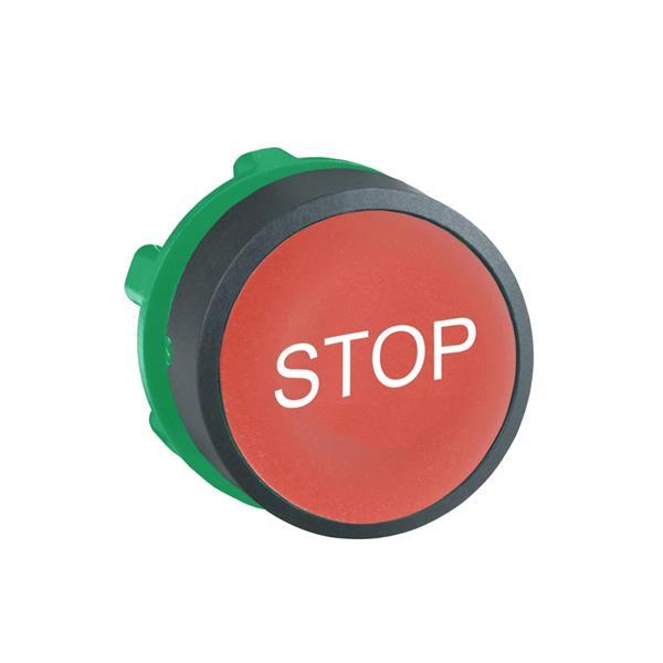 TELEMECANIQUE - kop voor drukknop - Ø22 - rood - STOP