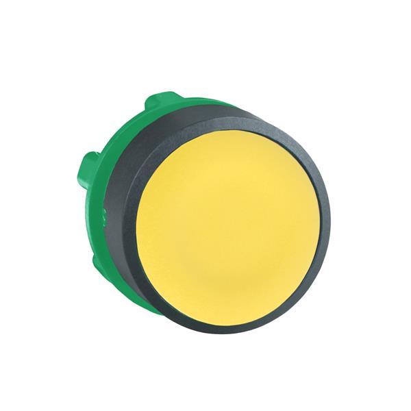 TELEMECANIQUE - kop voor drukknop - Ø22 - geel - zonder markering