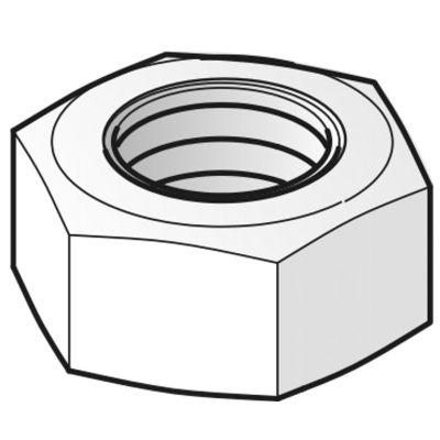 VERGOKAN - Moer (DIN 934) D = M8, uitvoering: elektrolytisch verzinkt