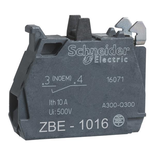 TELEMECANIQUE - contactelement voor drukknop - ZBE Ø22 - 1 NO verguld