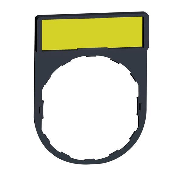 TELEMECANIQUE - etikethouder 30 x 40 mm standaard - Ø 22 - met etiket te graveren