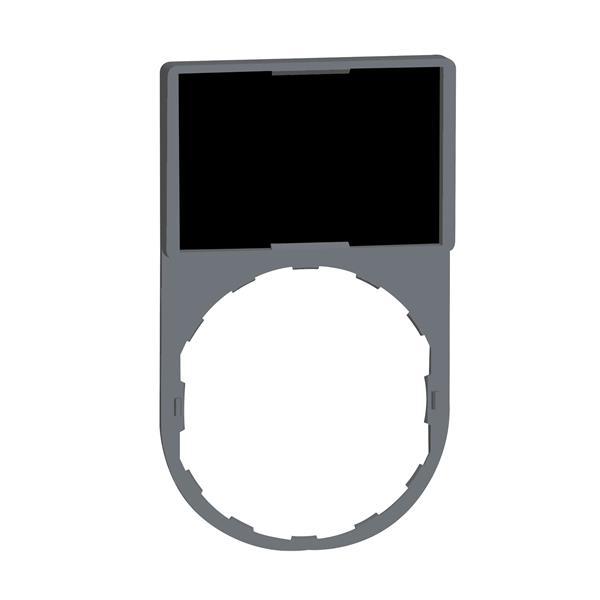 TELEMECANIQUE - etikethouder 30 x 50 mm standaard - Ø 22 - met blanco etiket