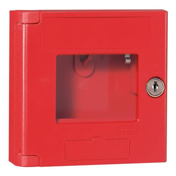LEGRAND - Coffret réserve de clé rouge - IP44 - IK 07