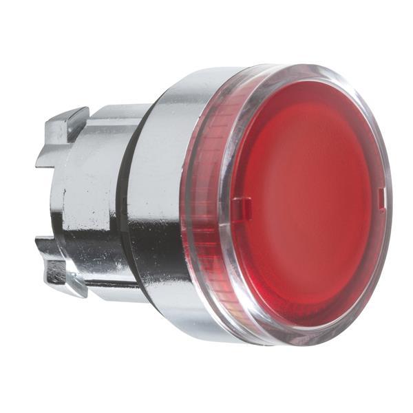 TELEMECANIQUE - Kop voor verlichte drukknop - Ø22 - rood - zonder markering