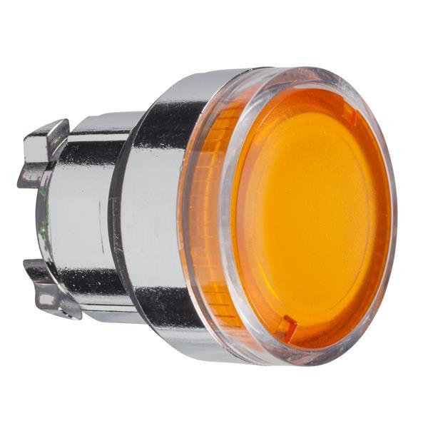 TELEMECANIQUE - Kop voor verlichte drukknop - Ø22 - geel - zonder markering