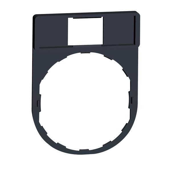 TELEMECANIQUE - etikethouder 30 x 40 mm standaard - Ø 22 - zonder etiket