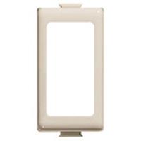 BTICINO - Adaptateur Magic pour 1 module - couleur ivoire