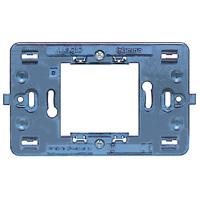 BTICINO - Modulehouder Magic - voor 2 modules (vierkantig) - met schroeven