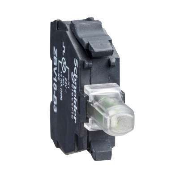 TELEMECANIQUE - bloc lumineux - Ø 22 - blanc DEL intégrée - 230..240 V