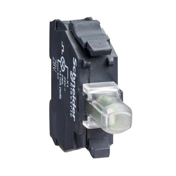 TELEMECANIQUE - lichtelement - Ø22 - geel ingebouwde LED - 230..240 V