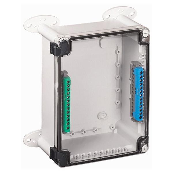 LEGRAND - Boîtier ind.plast. 360x270x124 Couvercle transp - IP55 - IK07