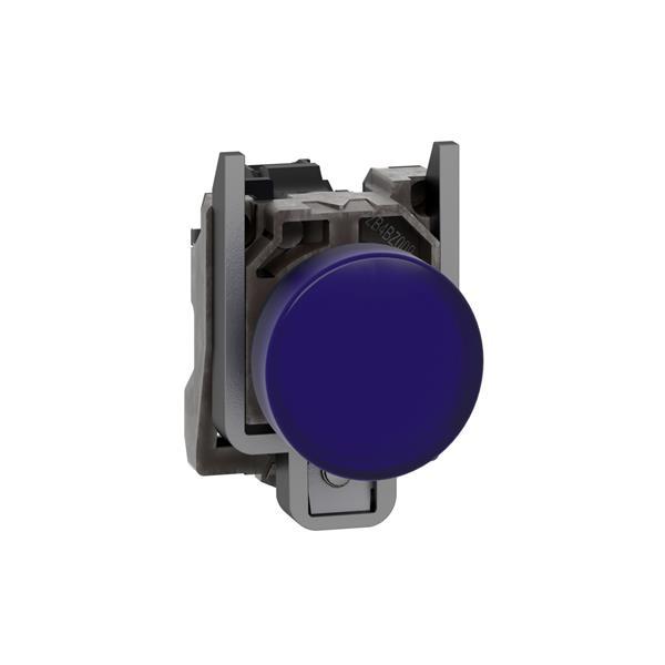 TELEMECANIQUE - Voyant rond Ø22 - IP65 - bleu - DEL intégrée - 240V - bornes