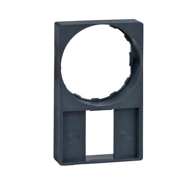 TELEMECANIQUE - porte étiquette 30 x 50 mm affleurant - Ø 22 - sans étiquette