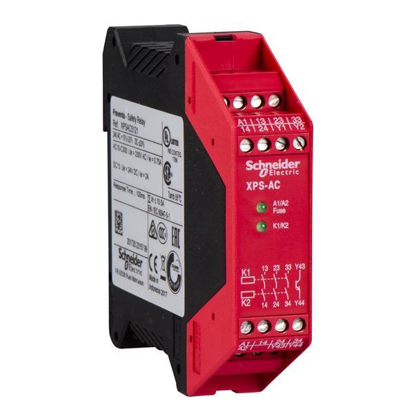 TELEMECANIQUE - Relais de sécurité XPS-AC - Arrêt d'urgence - 24V AC DC
