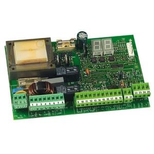 FAAC - 455 D: Motorsturing 230V met display-programmatie, aansl. elektr. slot