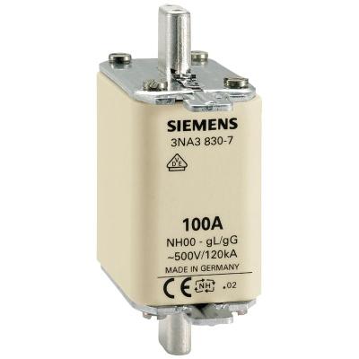 SIEMENS - Meszekering NH GR00 AC 500V/DC 250V 160A met niet-geÏsoleerde trekkers