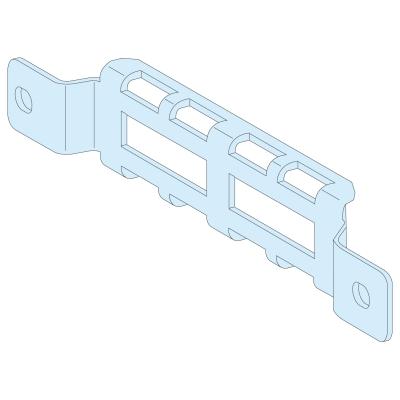 MERLIN GERIN - 4 adaptateurs support bridage câbles P400