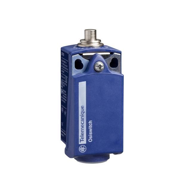 TELEMECANIQUE - interrupteur de position XCK-P - poussoir acier - 1 O + 1 F