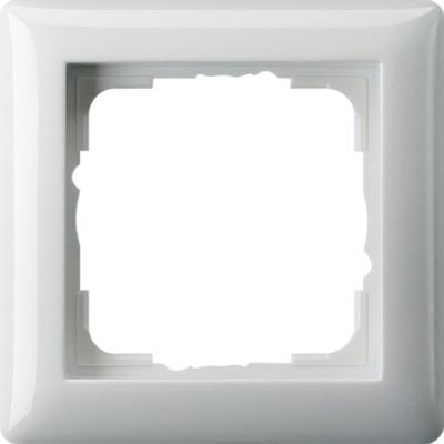 GIRA - Cadre finition 1x Standard 55 blanc