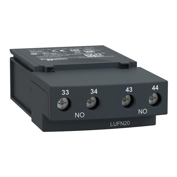 TELEMECANIQUE - module de contacts auxiliaires LUF - 2F