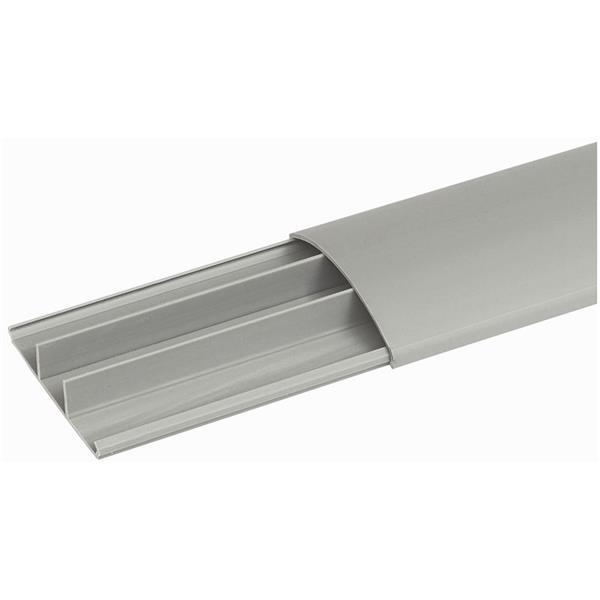 LEGRAND - Moulure de sol - 75 x 18 mm gris - long. 2 m - gris