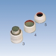 TECHNOLUX - Schroefring voor polycarbonate beschermbuis