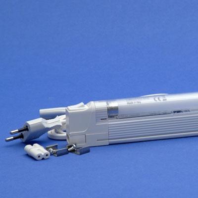 TECHNOLUX - Réglette universelles T5 1x28W blanc avec ballast électronique