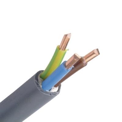 CABLEBEL - XVB câble d'installation XLPE/PVC DRAKA 1kV bobine blue F2 gris 3G2,5mm²