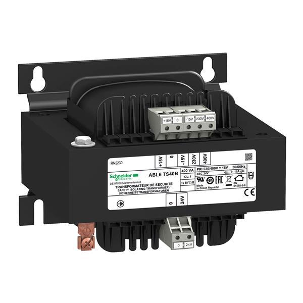 TELEMECANIQUE - Spanningstransformator - 230..400V - 1 x 24V - 400VA